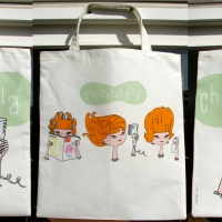 Choucroutella Tote Bags